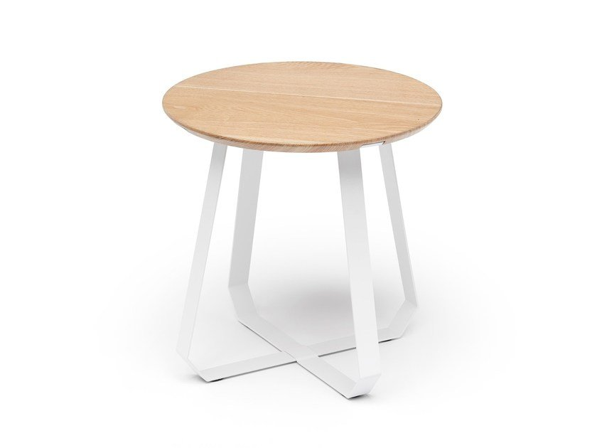 Round side table SHUNAN | Side table by Puik