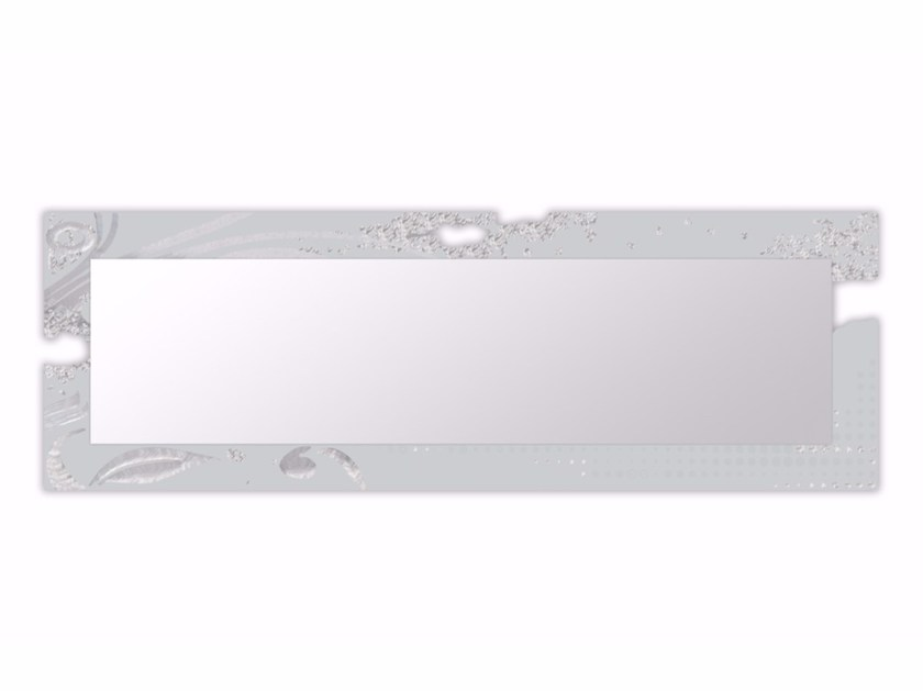 Rectangular framed mirror SI-092-SP | Mirror by LAS