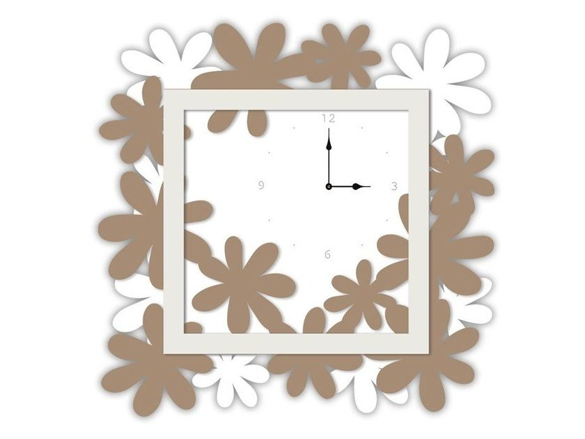 Wall-mounted MDF clock SI-207 | Clock by LAS