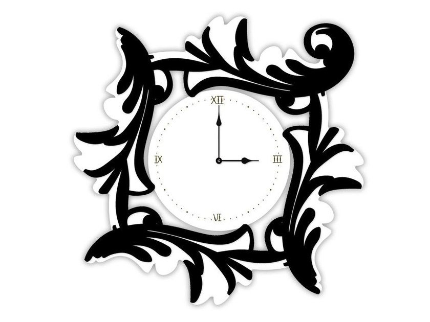Wall-mounted MDF clock SI-246OR | Clock by LAS