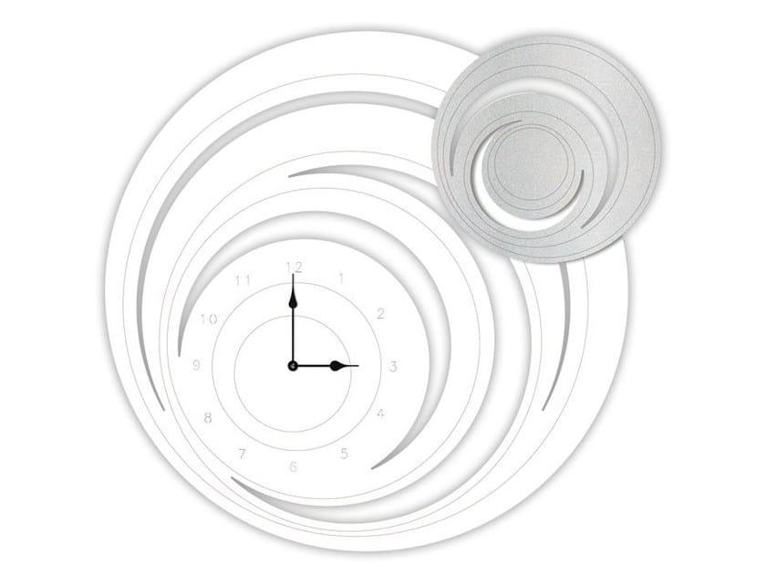 Wall-mounted MDF clock SI-297 | Clock by LAS