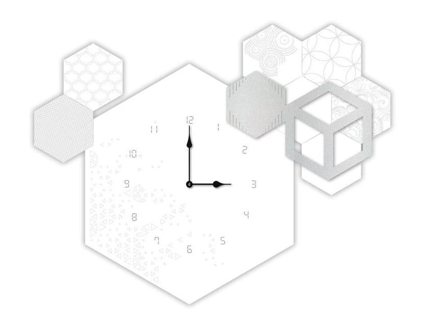 Wall-mounted MDF clock SI-310 | Clock by LAS