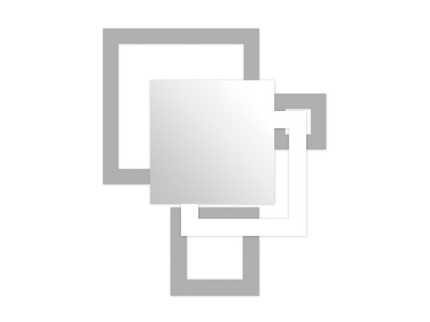 Wall-mounted mirror SI-507 | Wall-mounted mirror by LAS
