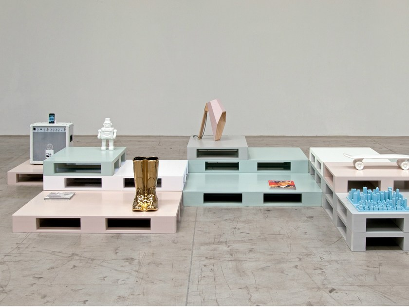 Coffee table SI-PALLET by Seletti