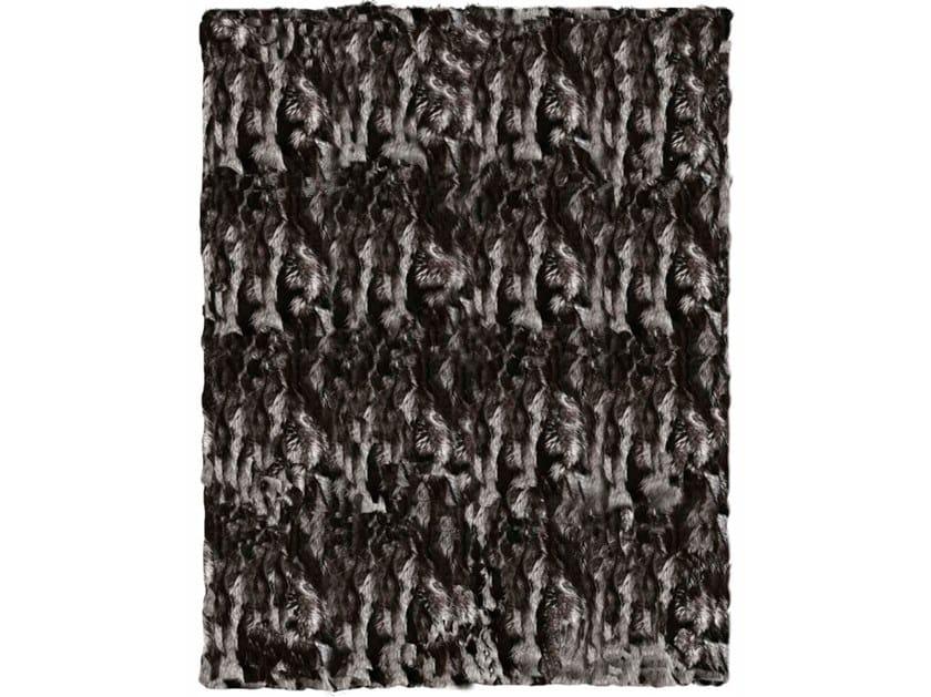 Silver fox fur rug SIBERIA by Miyabi casa