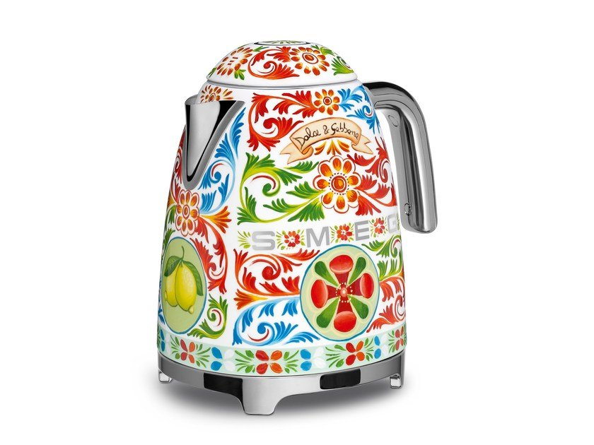 Stainless steel kettle KLF01 D&G by Smeg