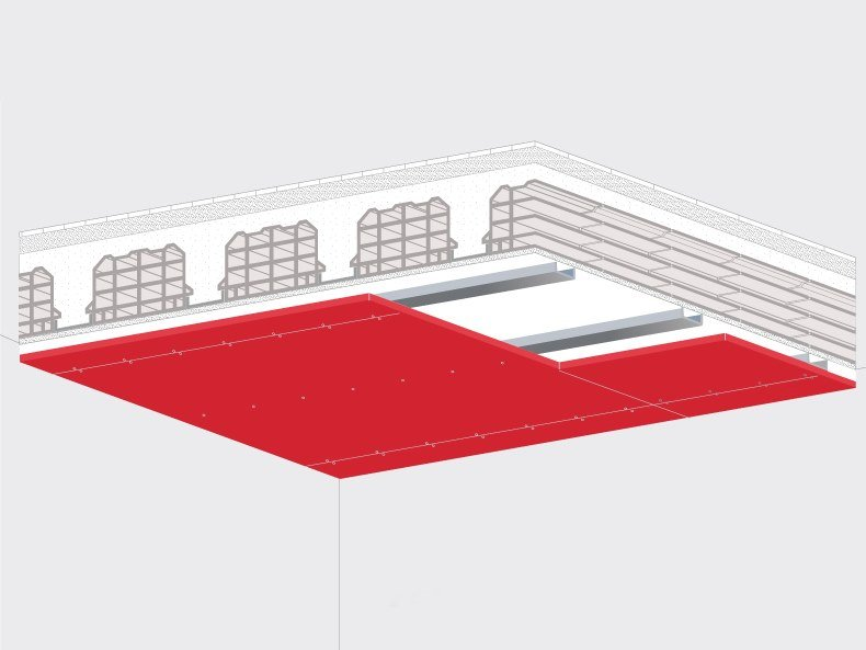 Ceiling tiles / Frame and accessory for suspended ceiling SICURTECTO® by Sicurtecto