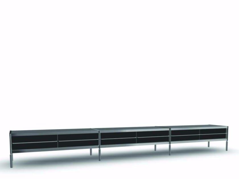 Methacrylate sideboard with drawers SID005 - SEC_sid005 by Alias