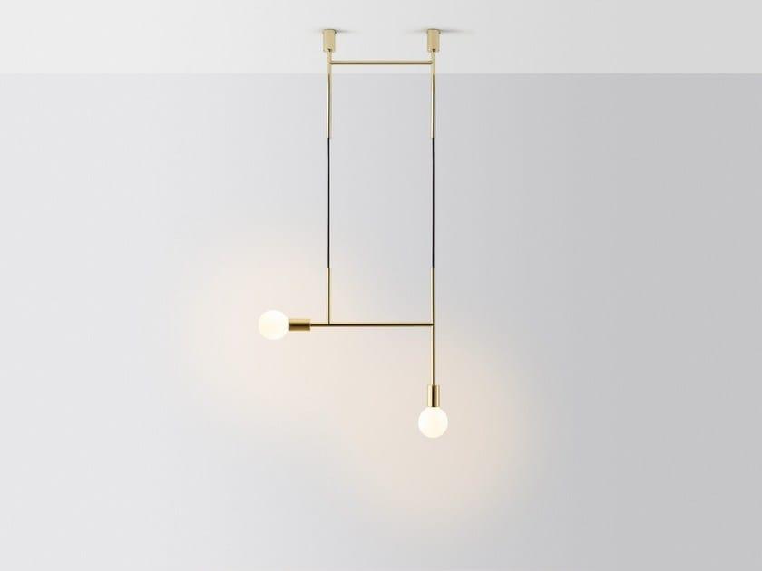 Lampada da soffitto a LED SIDE KICK by Volker Haug Studio