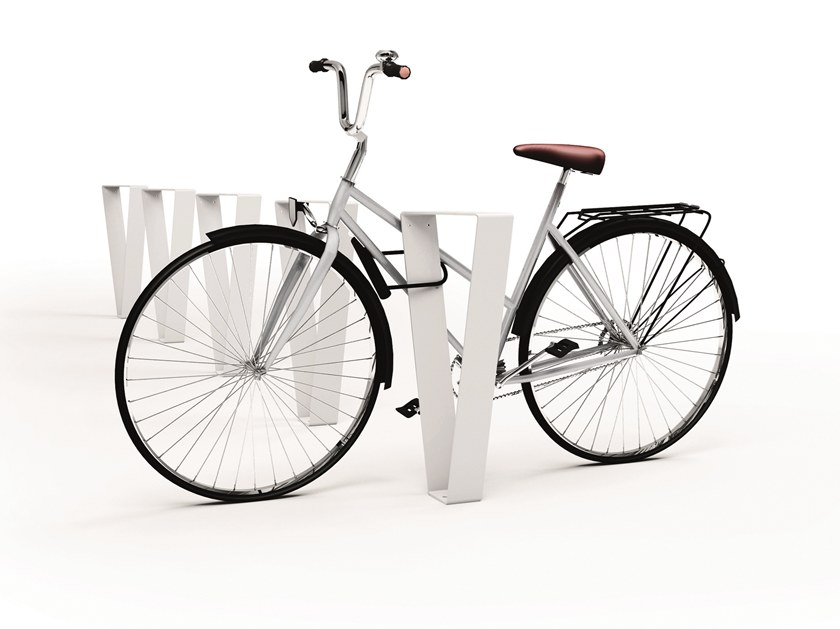 Galvanized steel Bicycle rack SIDE by LAB23