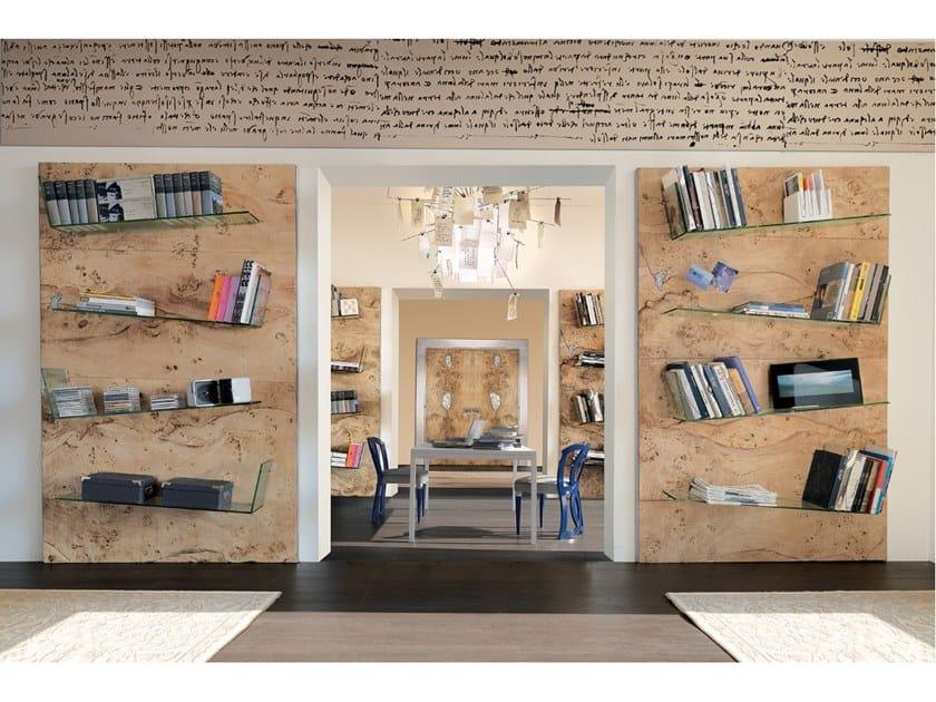 Libreria a parete in legno SIDNEY   Libreria by Bizzotto
