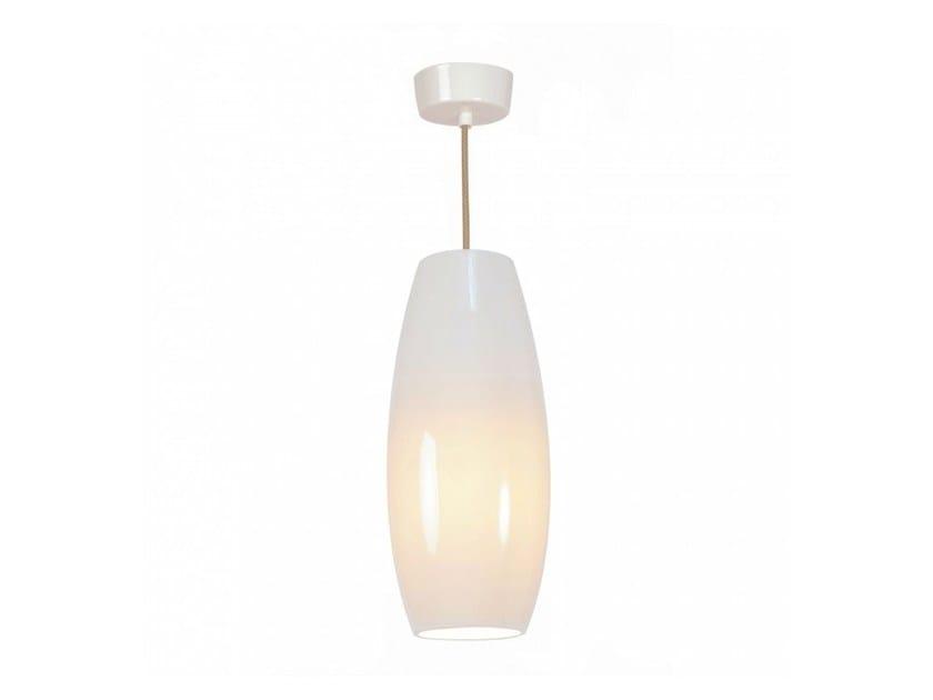 Direct light porcelain pendant lamp with dimmer SIDNEY LARGE by Original BTC
