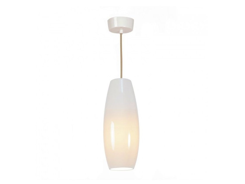 Direct light porcelain pendant lamp with dimmer SIDNEY SMALL by Original BTC