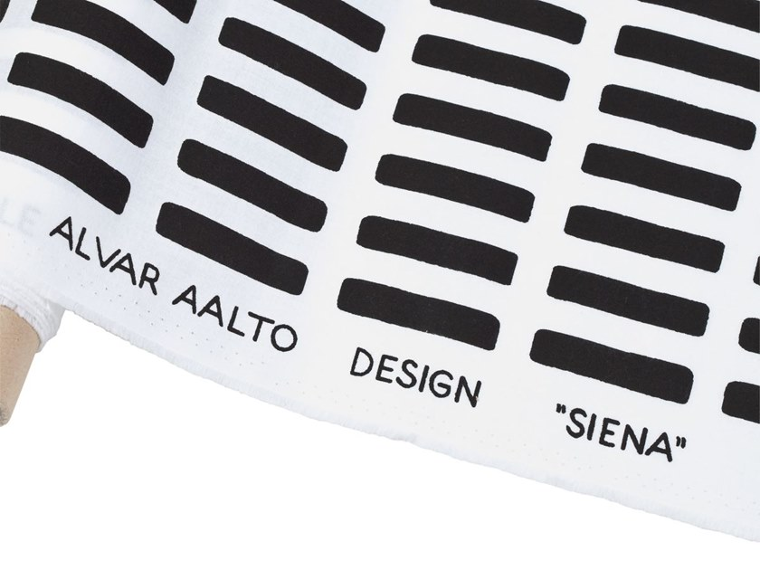 Cotton fabric with graphic pattern SIENA | Fabric by Artek