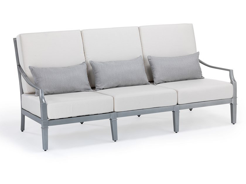 3 seater aluminium garden sofa SIENNA | 3 seater garden sofa by Oxley's Furniture