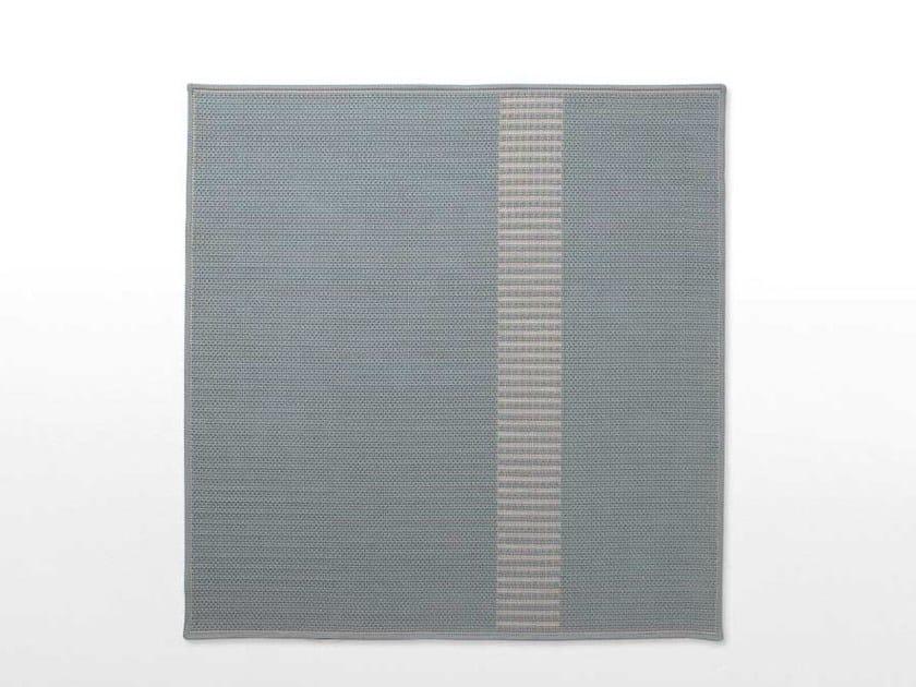 Handmade polypropylene outdoor rugs SIEPE by paola lenti