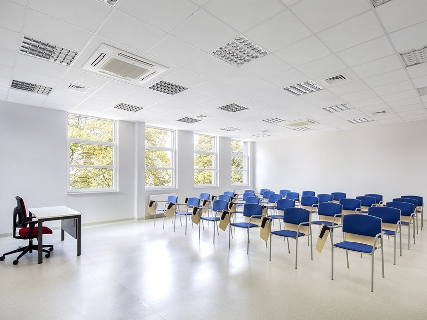 Sound absorbing laminate ceiling tiles SIERRA by Armstrong