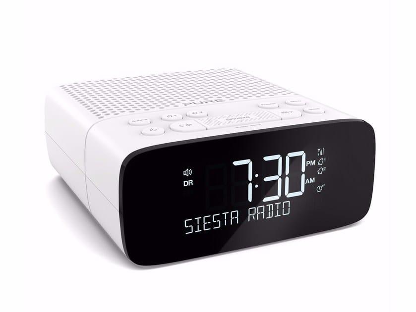 Digital Radio with headphones with alarm clock SIESTA S2 by PURE
