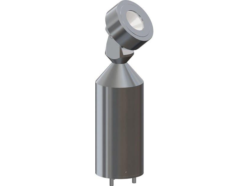 LED aluminium bollard light SIGMA | Bollard light by ASTEL LIGHTING