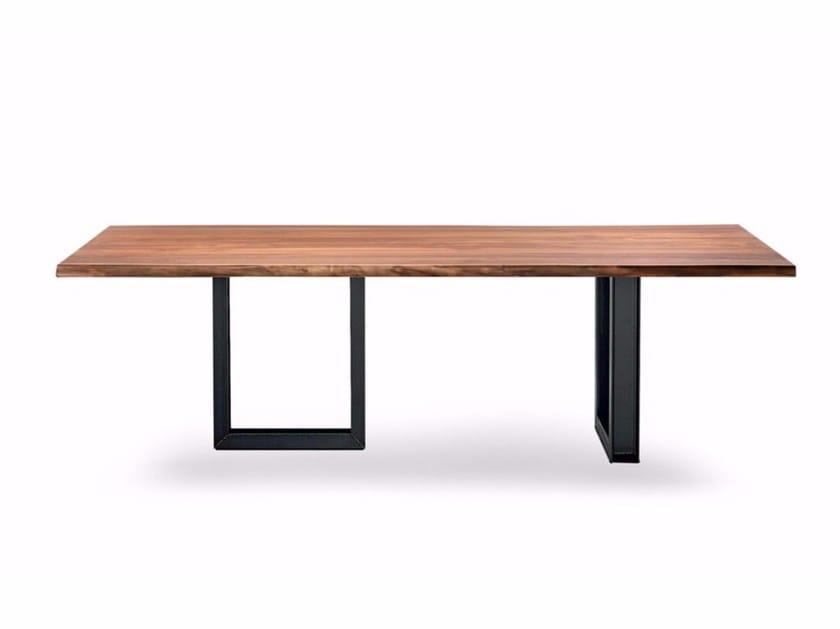 Rectangular wooden table SIGMA by Cattelan Italia