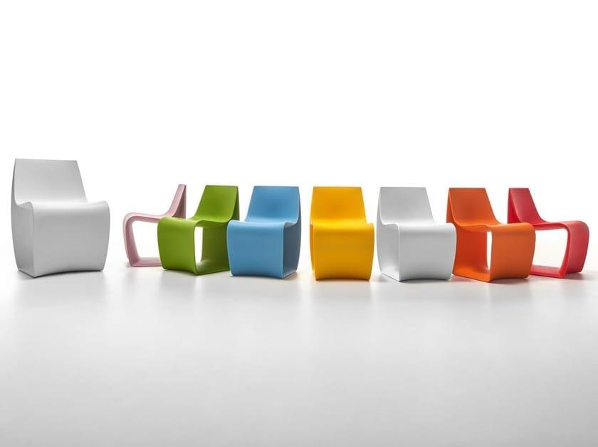 Polyethylene kids chair SIGN BABY by MDF Italia