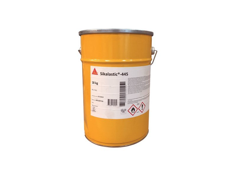 Liquid waterproofing membrane SIKALASTIC®-445 by SIKA ITALIA