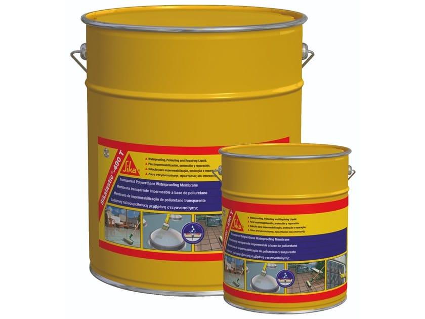 Liquid waterproofing membrane SIKALASTIC®-490 T by SIKA ITALIA