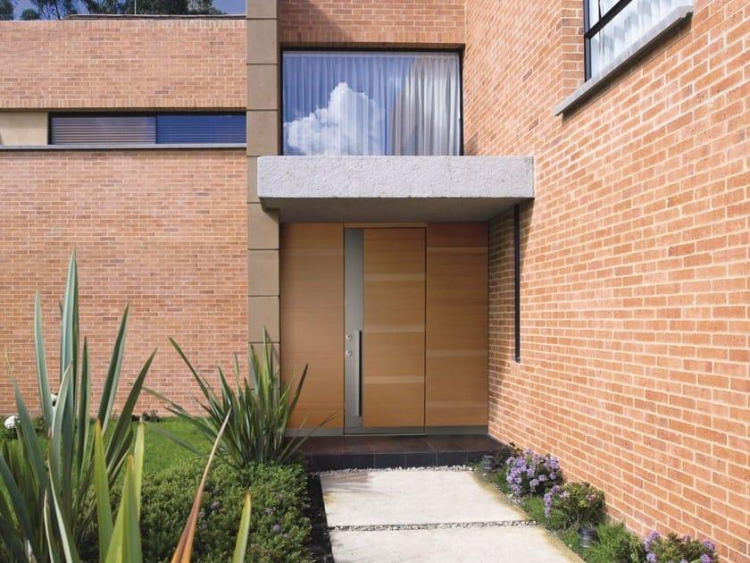 Exterior safety door SIKURA - SLOT by SILVELOX