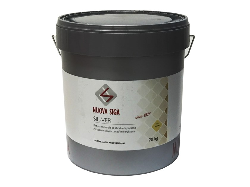 Silicate paint / exterior finish SIL-VER by NUOVA SIGA