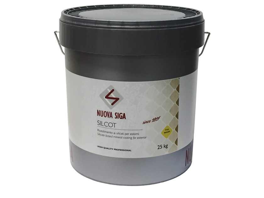 Protection for plasters / exterior finish SILCOT by NUOVA SIGA