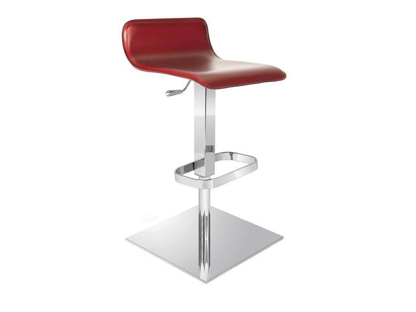 Swivel height-adjustable stool SILEA by Trevisan Asolo