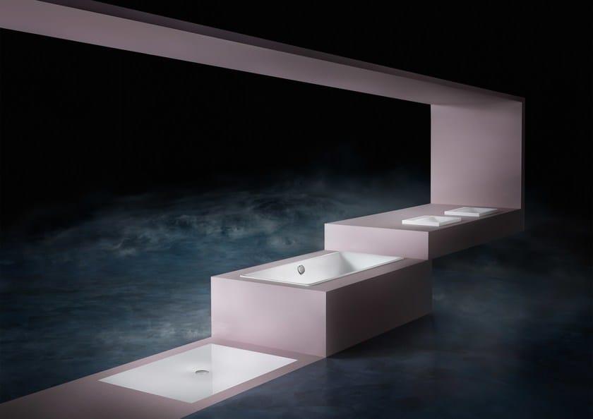 Vasche Da Bagno Kaldewei Prezzi : Vasca da bagno in acciaio smaltato da incasso silenio kaldewei italia