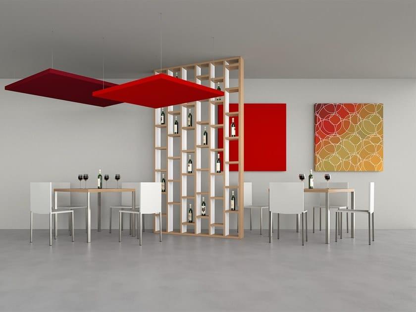 Panneau acoustique insonorisant pour mural SILENTE | Panneau acoustique décoratif by Caruso Acoustic