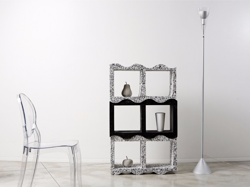 Open sectional modular bookcase SILHOUETTE by Be Different