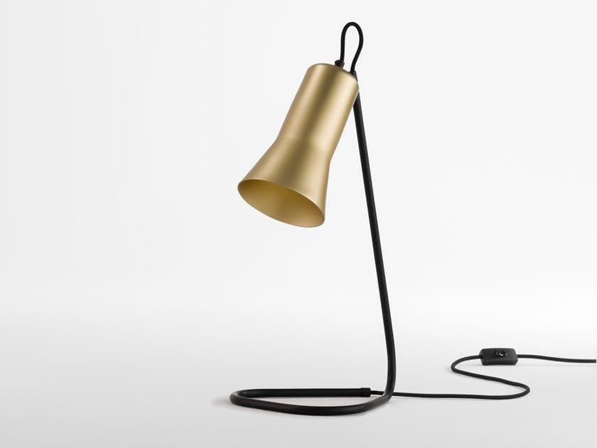 LED aluminium desk lamp SILHOUETTE   Desk lamp by Ross Gardam
