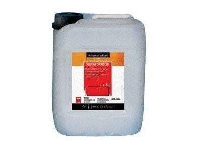 Base coat and impregnating compound for paint and varnish SILICA FONDO SD by Viero