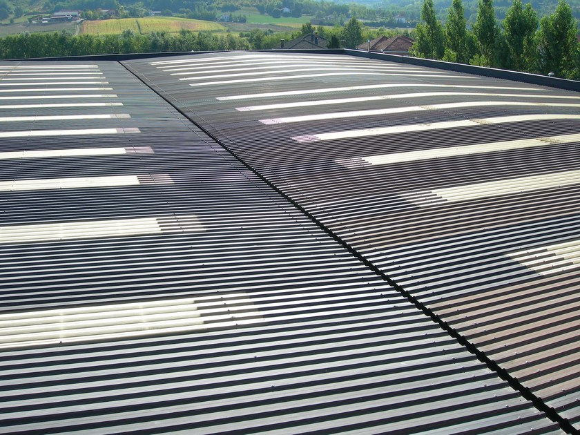 Metal sheet and panel for roof SILMA by CENTROMETAL