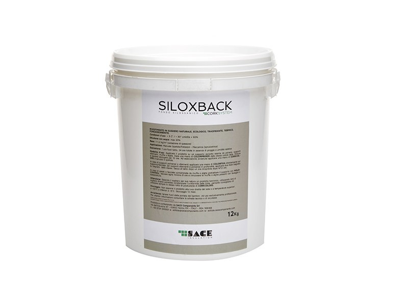 Base coat and impregnating compound for paint and varnish SILOXBACK by Sace Components