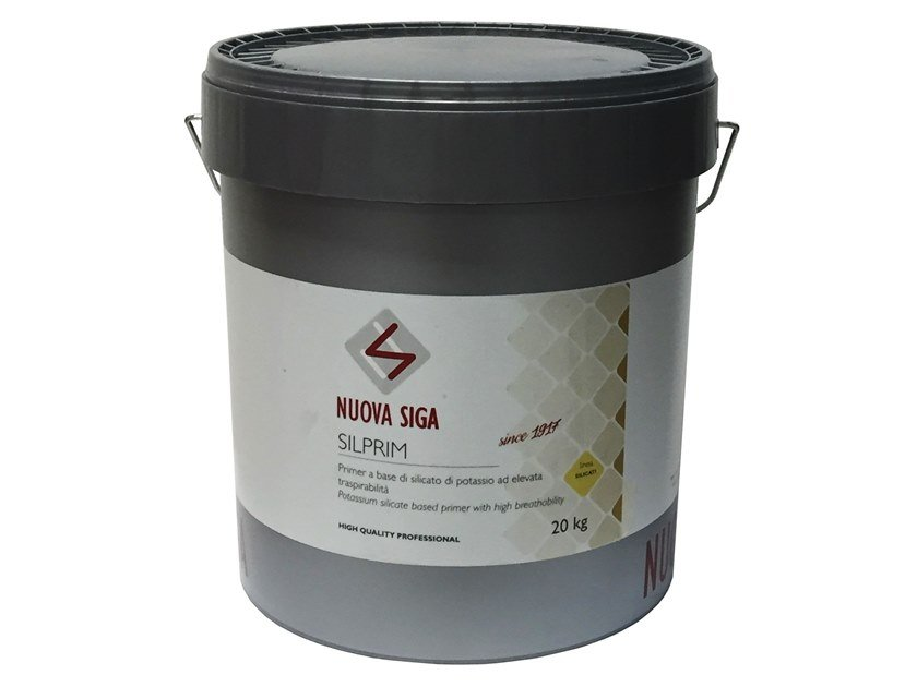Surface water-repellent product / Base coat and impregnating compound for paint and varnish SILPRIM by Nuova Siga