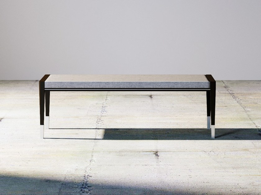 Wooden bench SILVER LINE | Bench by ITALIANELEMENTS