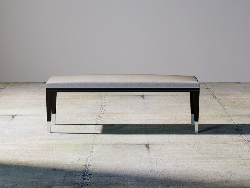 Upholstered bench SILVER LINE | Upholstered bench by ITALIANELEMENTS