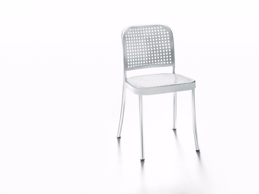 Stackable garden chair SILVER OUTDOOR by DE PADOVA