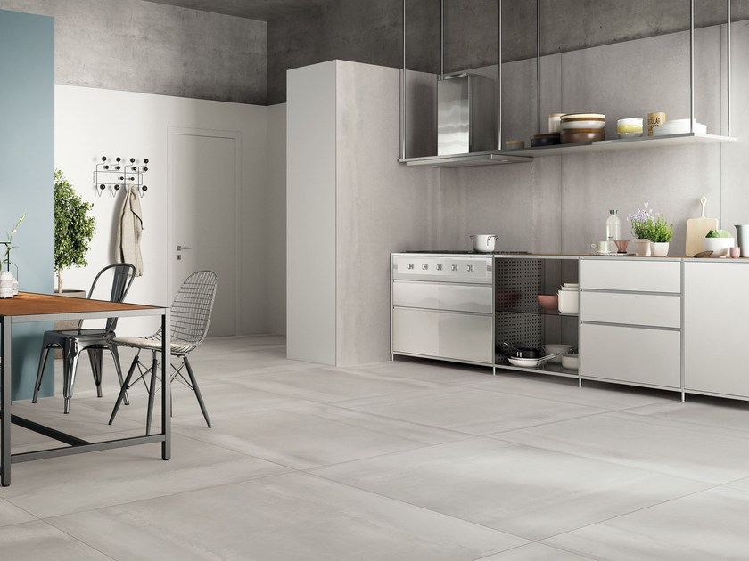 Wall/floor tiles with metal effect ACIDIC SILVER by CERAMICA FONDOVALLE