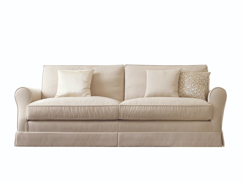 Sofa with removable cover SILVERMOON by Busnelli