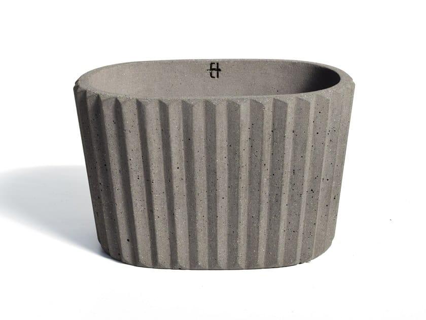 Portavaso in cemento SIMAN | Vaso by URBI et ORBI