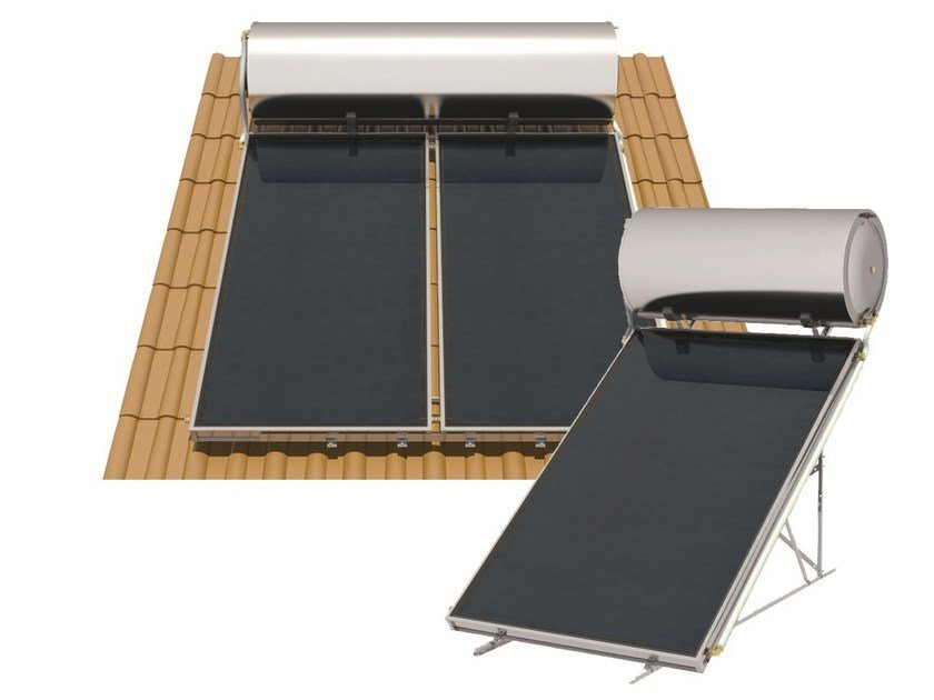 Natural circulation Solar heating system SIME NATURAL S by Sime