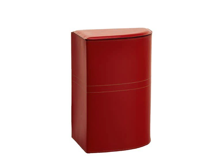 Bonded leather laundry container SIMON by LIMAC design FIRESTYLE