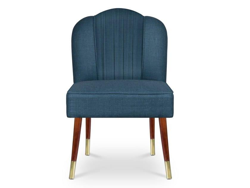 Upholstered fabric chair SIMONE by Ottiu