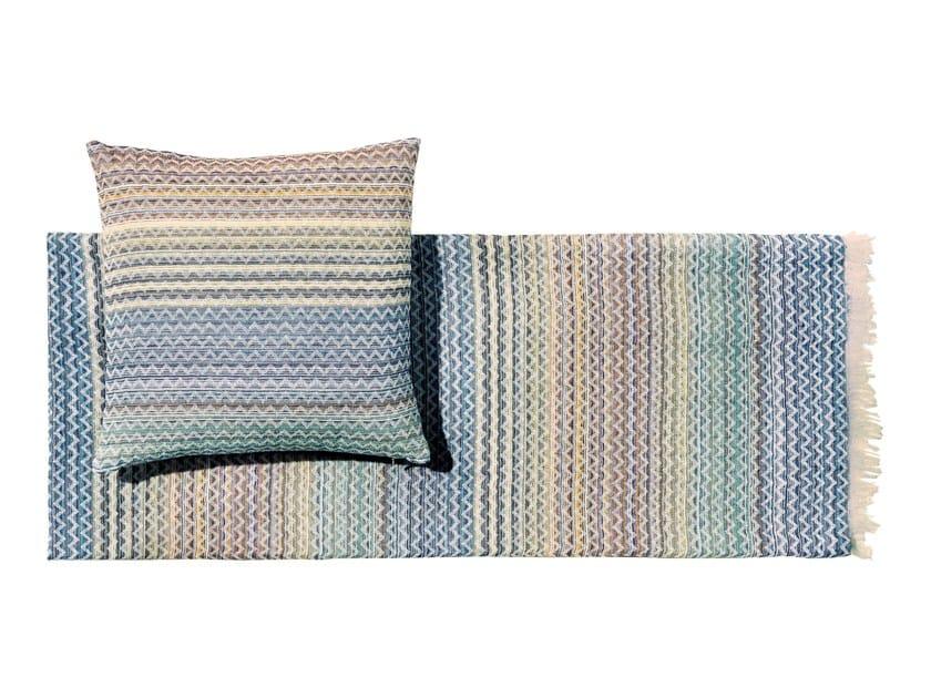 Plaid multicolor in cotone SIMONE | Plaid by MissoniHome