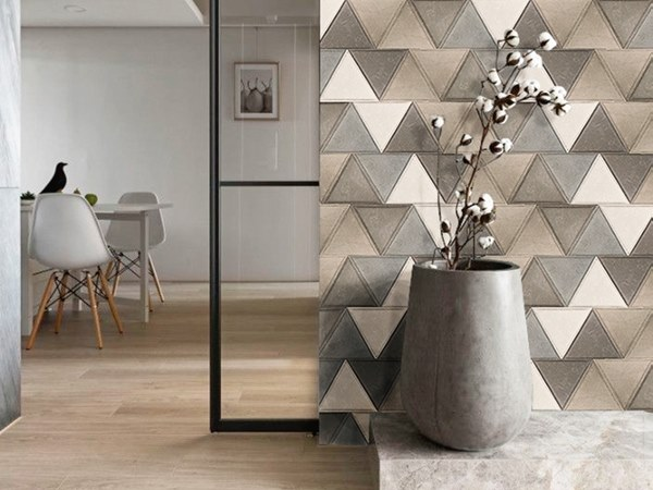 Indoor leather wall tiles SIMPHONY by Miyabi casa